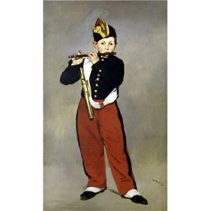 その他 世界の名画シリーズ、プリハード複製画 エドゥアール・マネ作 「笛を吹く少年」【代引不可】 ds-193553