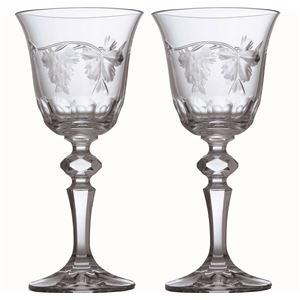 その他 【Bohemia Bacchus】ボヘミア バッカス ワイン ペア 130ml SVL-900/2 ds-1543113