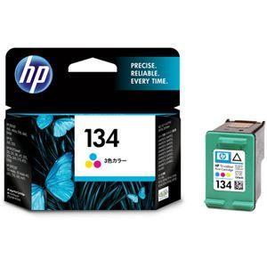 その他 (まとめ) HP134 プリントカートリッジ カラー(ラージサイズ) C9363HJ 1個 【×3セット】 ds-1570490