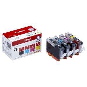 その他 (まとめ) キヤノン Canon インクタンク BCI-7e/4MP 4色マルチパック 1018B001 1箱(4個:各色1個) 【×3セット】 ds-1570592