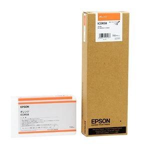 その他 (まとめ) エプソン EPSON PX-P/K3インクカートリッジ オレンジ 700ml ICOR58 1個 【×3セット】 ds-1572075