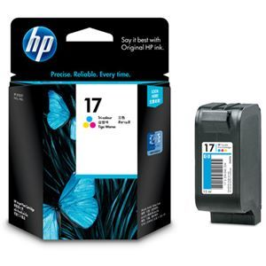その他 (まとめ) HP17 プリントカートリッジ 3色カラー C6625A 1個 【×3セット】 ds-1573124