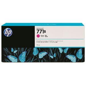 その他 (まとめ) HP771B インクカートリッジ マゼンタ 775ml 顔料系 B6Y01A 1個 【×3セット】 ds-1573422