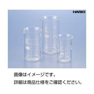 その他 (まとめ)硼珪酸ガラス製トールビーカー200ml(HARIO)【×10セット】 ds-1588985