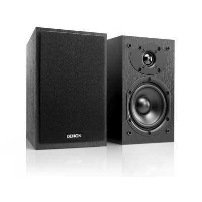 DENON 高音質コンパクトスピーカー ペア SC-M41-BK