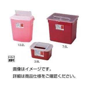その他 (まとめ)シャープスコンテナー 3.8L 赤【×30セット】 ds-1593994