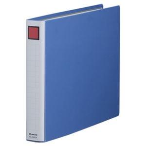 その他 (まとめ) キングファイル スーパードッチ(脱・着)イージー B4ヨコ 300枚収容 背幅46mm 青 2493EA 1冊 【×10セット】 ds-1574296