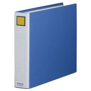 その他 (まとめ) キングファイル スーパードッチ(脱・着)イージー B4ヨコ 400枚収容 背幅56mm 青 2494EA 1冊 【×10セット】 ds-1574297