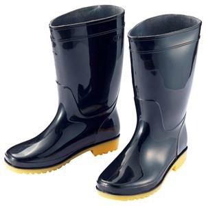 その他 (まとめ) アイトス 衛生長靴 24.5cm ブラック AZ-4438-24.5 1足 【×10セット】 ds-1574597