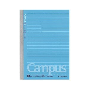 その他 (まとめ) コクヨ キャンパスノート(ドット入り罫線) A6 B罫 48枚 ノ-221BTN 1セット(10冊) 【×10セット】 ds-1576370