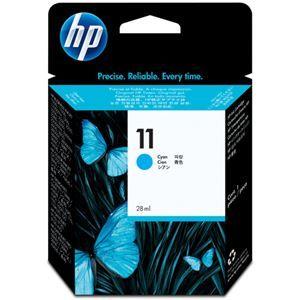 その他 (まとめ) HP11 インクカートリッジ シアン 28ml 染料系 C4836A 1個 【×3セット】 ds-1578381