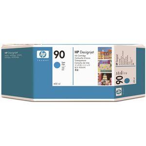その他 (まとめ) HP90 インクカートリッジ シアン 400ml 染料系 C5061A 1個 【×3セット】 ds-1578493