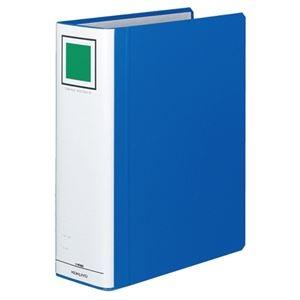 その他 (まとめ) コクヨ チューブファイル(エコツインR) A4タテ 800枚収容 背幅95mm 青 フ-RT680B 1冊 【×10セット】 ds-1578747
