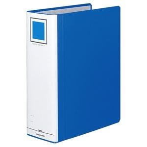 その他 (まとめ) コクヨ チューブファイル(エコツインR) A4タテ 900枚収容 背幅105mm 青 フ-RT690B 1冊 【×10セット】 ds-1578749