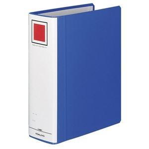 その他 (まとめ) コクヨ チューブファイル(エコツインR) B5タテ 700枚収容 背幅85mm 青 フ-RT671B 1冊 【×10セット】 ds-1578754