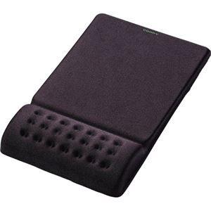 その他 (まとめ) エレコム COMFY マウスパッド ブラック MP-095BK 1枚 【×8セット】 ds-1580851