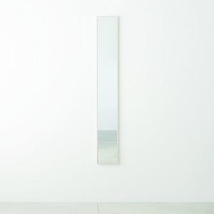 その他 細枠ウォールミラー 幅22cm(ホワイト/白) 天然木/姿見鏡/スリム/高級感/木製/飛散防止加工/壁掛け/北欧風/日本製/完成品/NK-5 ds-1604135