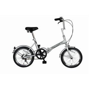 その他 折りたたみ自転車/スポーツバイク 【シングルギア】 シルバー 16インチ スチール 『FIELD CHAMP365』【代引不可】 ds-1604417