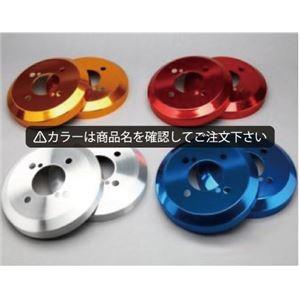 その他 ミニキャブ バン U61V/U62V アルミ ハブ/ドラムカバー リアのみ カラー:鏡面レッド シルクロード DCM-002 ds-1607296