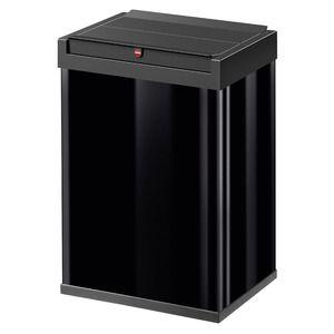 その他 Hailo(ハイロ)ニュービッグボックス40L ブラック(ゴミ箱・ダストBOX)60086 ds-1607464