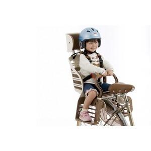 その他 ヘッドレスト付きデラックス後ろ用子供乗せ(自転車用チャイルドシート) 【OGK】RBC-007DX3 アイボリー ds-1634838