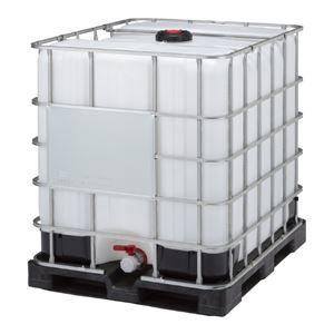 その他 三甲(サンコー) サンバルク(液体輸送容器) un無 #1000TC-4 (Fセット) ブラック(黒)×ホワイト(白)【代引不可】 ds-1647331