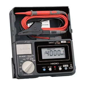 その他 日置電機 5レンジ デジタル絶縁抵抗計 IR4051-10 ds-1656350