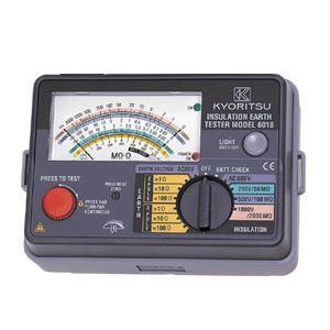 その他 共立電気計器 キューメグアース アナログ絶縁・接地抵抗計 精密測定コードセット 6018F ds-1656449