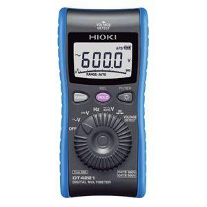 その他 日置電機 デジタルマルチメータ(検電機能付き) DT4221【代引不可】 ds-1656497