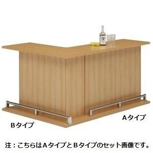 その他 バーカウンター/カウンターテーブル 【A-type 単品】 幅120cm 日本製 ナチュラル 【CABA】キャバ 【完成品 開梱設置】【代引不可】 ds-1645295