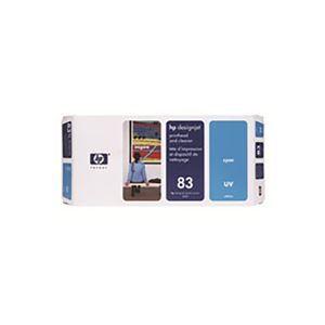 その他 【純正品】 HP UVヘッド・クリーナー/プリンター用品 【C4961A 83 C シアン】 ds-1660074