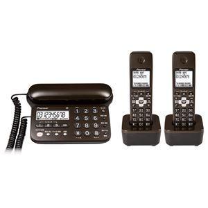その他 パイオニア デジタルコードレス留守番電話機(子機2台) ダークブラウン TF-SD15W-TD ds-1663090