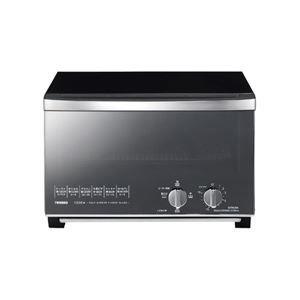 その他 ツインバード工業 ミラーガラスオーブントースター (ブラック) TS-D047B ds-1663773