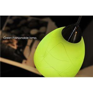 その他 ペンダントライト(吊り下げ型照明器具) ガラス製 グリーン(緑) 〔リビング照明/ダイニング照明/キッチン照明〕【電球別売】【代引不可】 ds-1677314