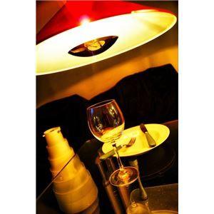 その他 ペンダントライト(吊り下げ型照明器具) 円錐型 アルミ製 レッド(赤) 〔リビング照明/ダイニング照明〕【電球別売】【代引不可】 ds-1677325