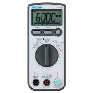 その他 【ホーザン】デジタルマルチメータ DT-119 ds-1699780