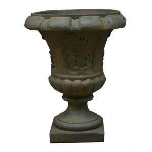 その他 ファイバー製 軽量 植木鉢/プランター 【ラスティ 直径46cm】 底穴あり 『バッセル サルダラ』 ds-1701777