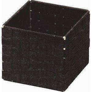 ちどり産業 小物入れ ボックス アクセサリー ダークブラウン 約14.5×14.5×13cm 58-01【36個セット】 4517657580138【納期目安:1週間】