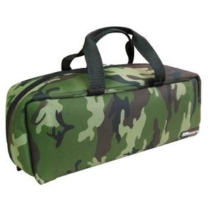 その他 (業務用20セット)DBLTACT トレジャーボックス(作業バッグ/手提げ鞄) Mサイズ 自立型/軽量 DTQ-M-CA 迷彩 〔収納用具〕 ds-1702491