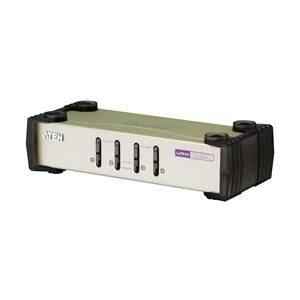 その他 ATEN マルチインターフェース 4ポート USB KVMスイッチ CS84U ds-1707180