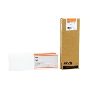その他 エプソン インクカートリッジ オレンジ 700ml (PX-H10000/H8000用) ICOR58 ds-1708560