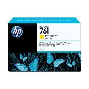 その他 HP(Inc.) 761 インクカートリッジ 400ml イエロー CM992A ds-1709235