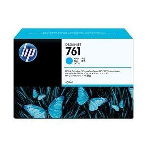その他 HP(Inc.) 761 インクカートリッジ 400ml シアン CM994A ds-1709237