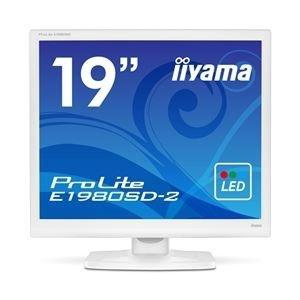 その他 iiyama 19型液晶ディスプレイ ProLite E1980SD-2 (LED) ピュアホワイト E1980SD-W2 ds-1709576