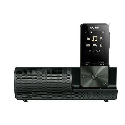 ソニー 16GB ウォークマンSシリーズ[メモリータイプ] スピーカー付 NW-S315K-B【納期目安:2週間】