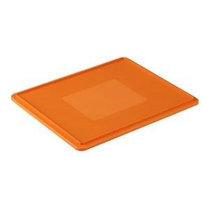 その他 (まとめ)三甲(サンコー) サンボックス蓋 単品 64-2 オレンジ 【×20セット】【代引不可】 ds-1719301
