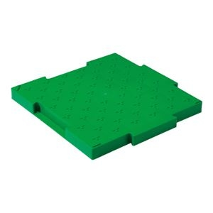 その他 (業務用10個セット)三甲(サンコー) ロードマット/樹脂製敷板 ジョイント式 ポリプロピレン製 グリーン(緑) 【代引不可】 ds-1719700