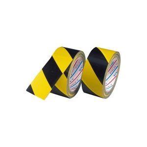その他 (業務用60セット) ダイヤテックス 安全標示テープ トラ50mm×25m TT-06-YB ds-1731788