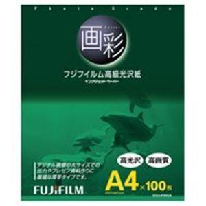 その他 (業務用20セット) 富士フィルム FUJI 高級光沢紙 画彩 G3A4100A A4 100枚 ds-1733702