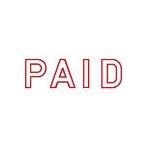 その他 (業務用50セット) シヤチハタ Xスタンパー/ビジネス用スタンプ 【PAID】 赤 XBN-10052 ds-1734197